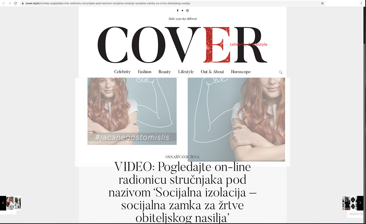 Cover.style Pogledajte on-line radionicu